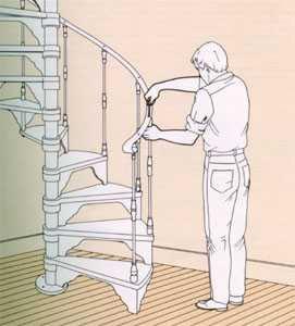 Лестница приставная деревянная своими руками