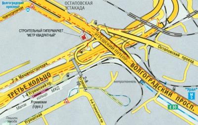 Адрес: Волгоградский проспект, д 32/25 (на пересечении Волгоградского проспекта и третьего кольца.  В 5 минутах от м...