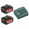 Набор METABO Basic-Set 18 В 2x4.0 Ач+ЗУ (685050000)