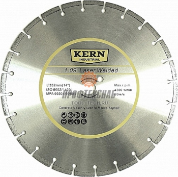 Kern Алмазный диск Kern Laser Welded серия 1.09 608