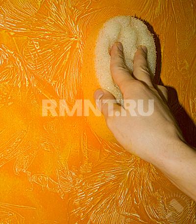 Декоративный воск для стен своими руками