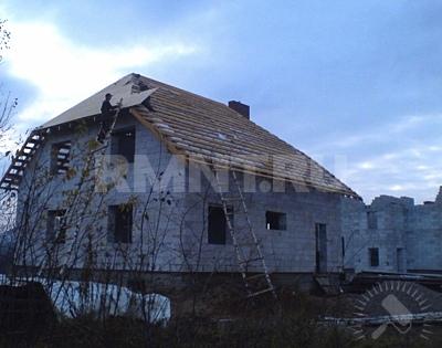 Монтаж OSB-плит на крышу