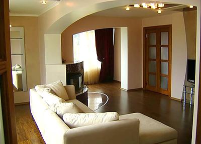 VIP квартире в центре Ялты подготовлены в середине мая 2009 года.