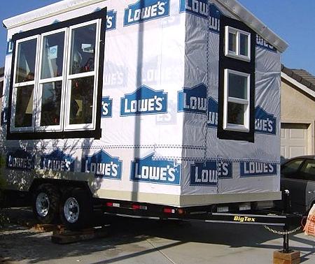 Самостоятельно сделать дом на колесах