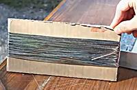 Как сделать серебряное напыление 2