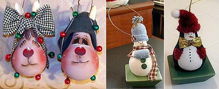 Сделать новогоднюю игрушку из лампочки своими руками