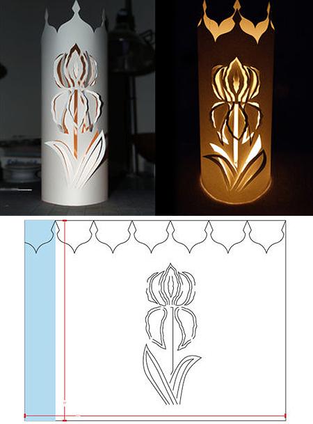 Внешний вид и схема фонарика
