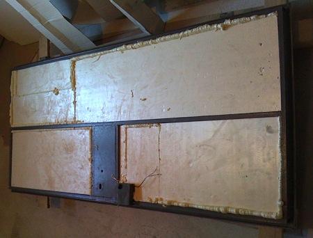 Обшивка и утепление входной металлической двери