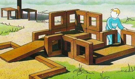 Как своими руками построить дом на даче
