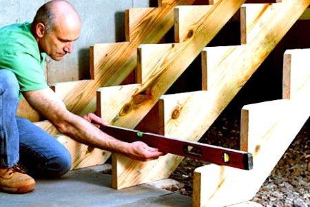 Статья как построить лестницу для