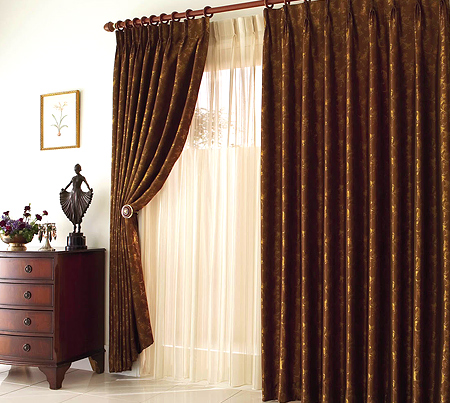 - Diferentes modelos de cortinas para sala ...