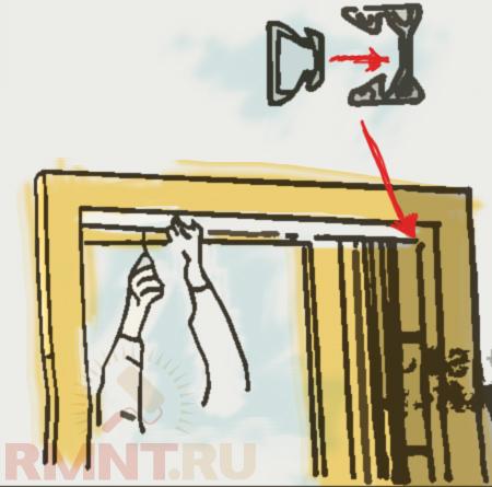 Установка дверей гармошка своими руками с видео