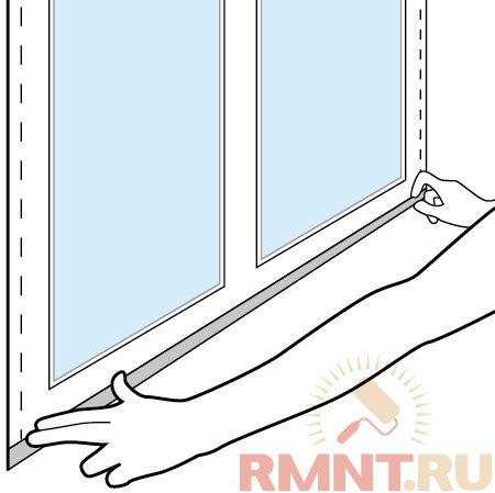 Своими руками москитная сетка на пластиковое окно