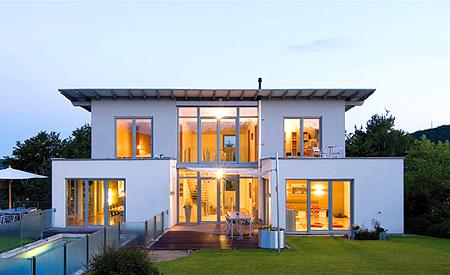 Дома с французскими окнами фото
