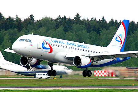 Парк Уральских Авиалиний пополнился еще одним Airbus А320.
