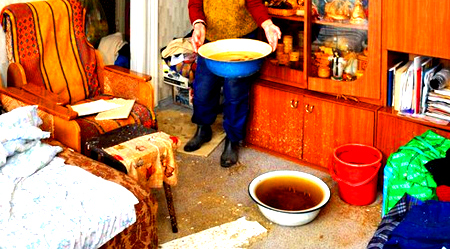 затопление канализацией квартиры