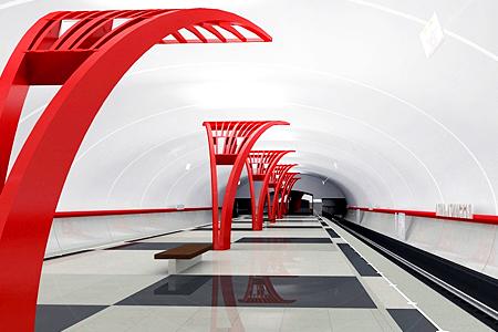 Новую станцию метро сдадут к Новогодним праздникам