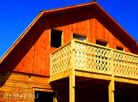 Как построить балкон своими руками на даче.