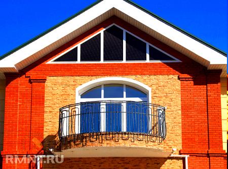 Как сделать балкон в частном доме своими руками фото