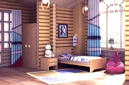 фото дома деревянные дизайн интерьера