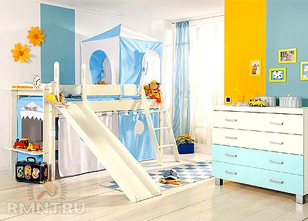 Выбор детской кроватки. Детский интерьер