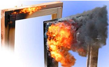 Пожаробезопасность пластиковых окон
