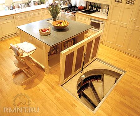 Как сделать подвал на кухне 219