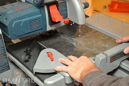 Как выбрать электрический плиткорез. Рекомендации профессионала