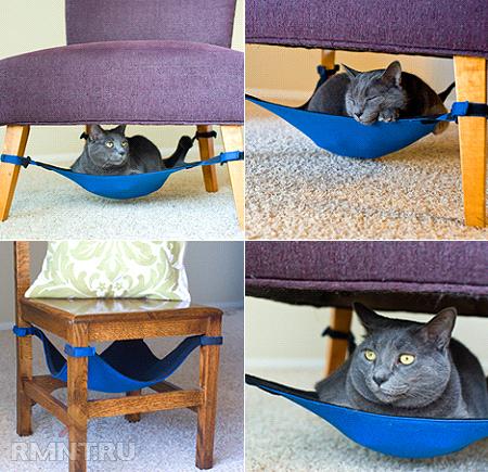 спальное место для кошки своими руками пошаговая инструкция - фото 8
