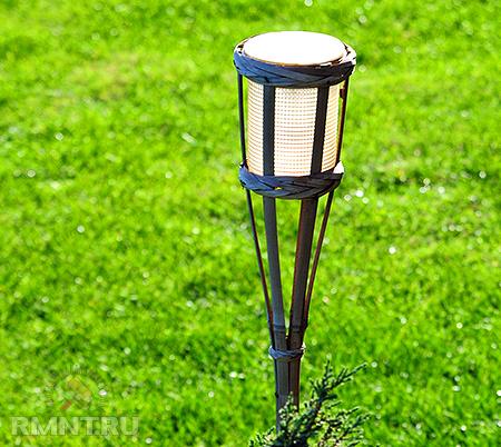 24 предназначен для освещения и декорирования садовых участков