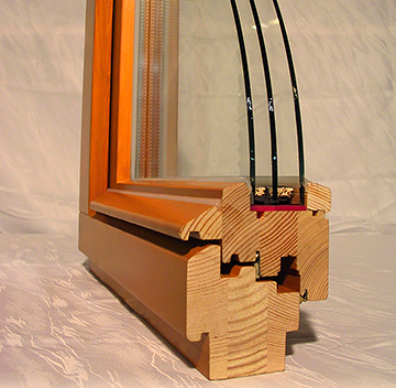 Деревянные окна из клеевого бруса