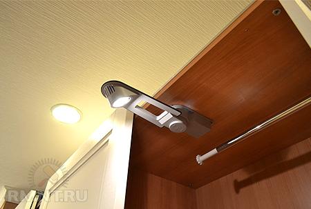 Светодиодная подсветка шкафа купе своими руками. Шкаф своими руками.
