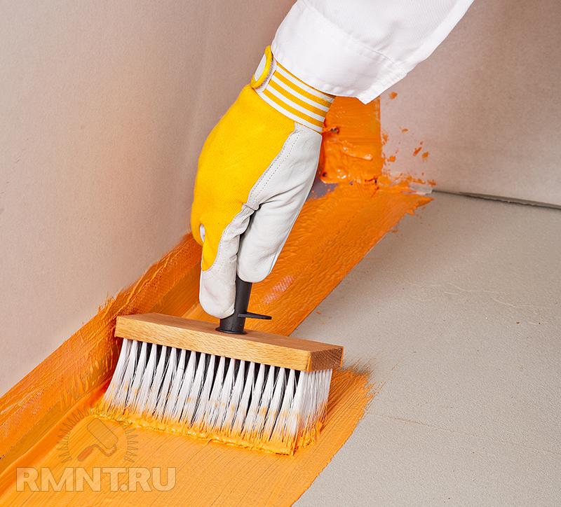 Подготовка полов под стяжку из пенополистирола экструдированного.