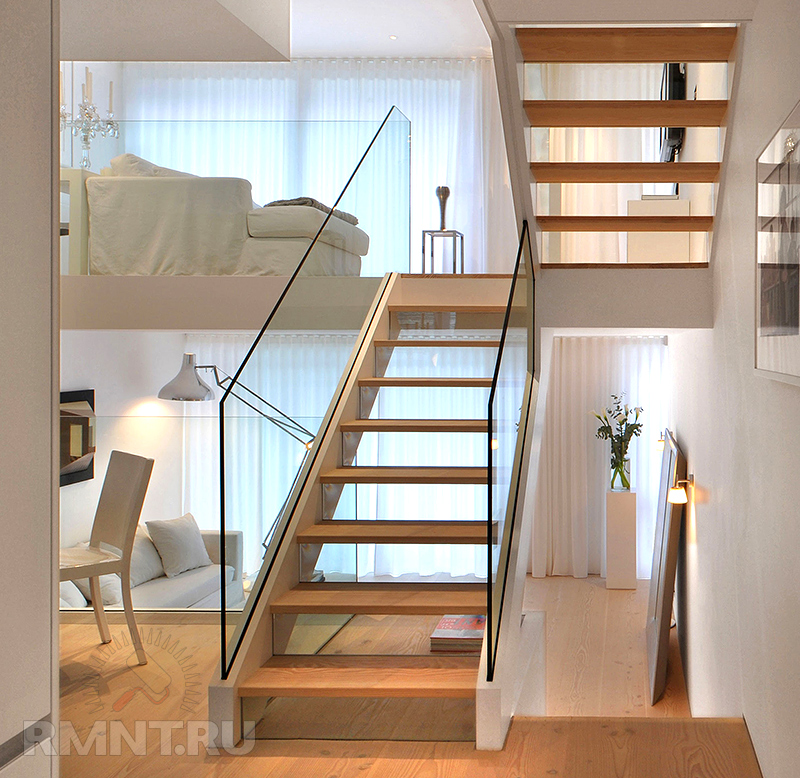 Rmnt ru - Stairs in a small space model ...