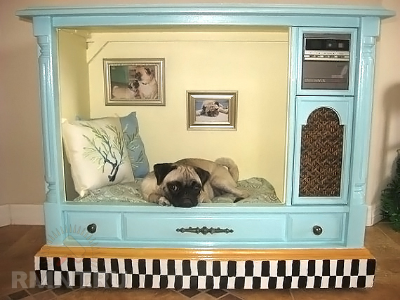 Спальное место для собаки своими руками фото