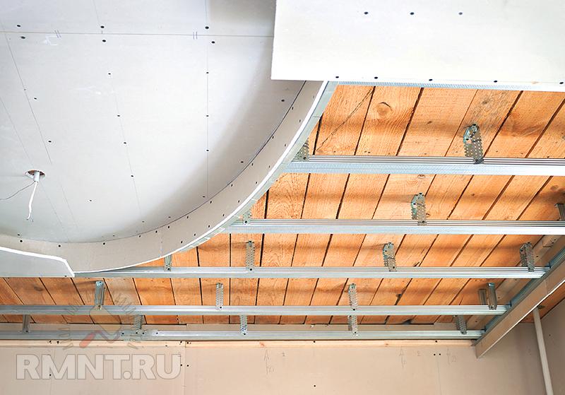 Трёхуровневый потолок своими руками