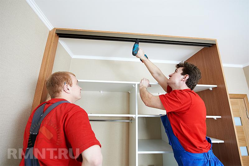 Шкафы купе сделать своими руками сборка монтаж