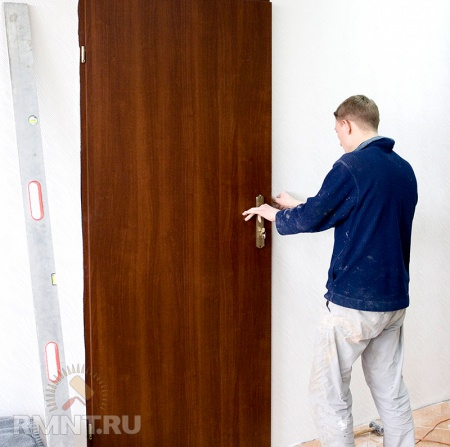 Вторая входная внутренняя дверь в квартиру