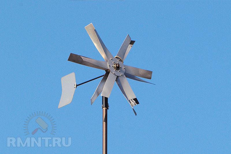 Как сделать ветряную