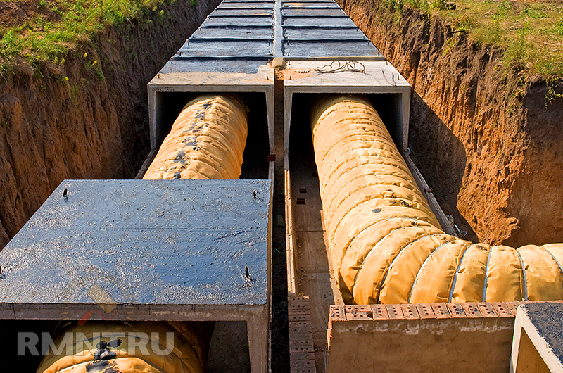 Гидроизоляция входов теплотрасс гидроизоляция труб стальных