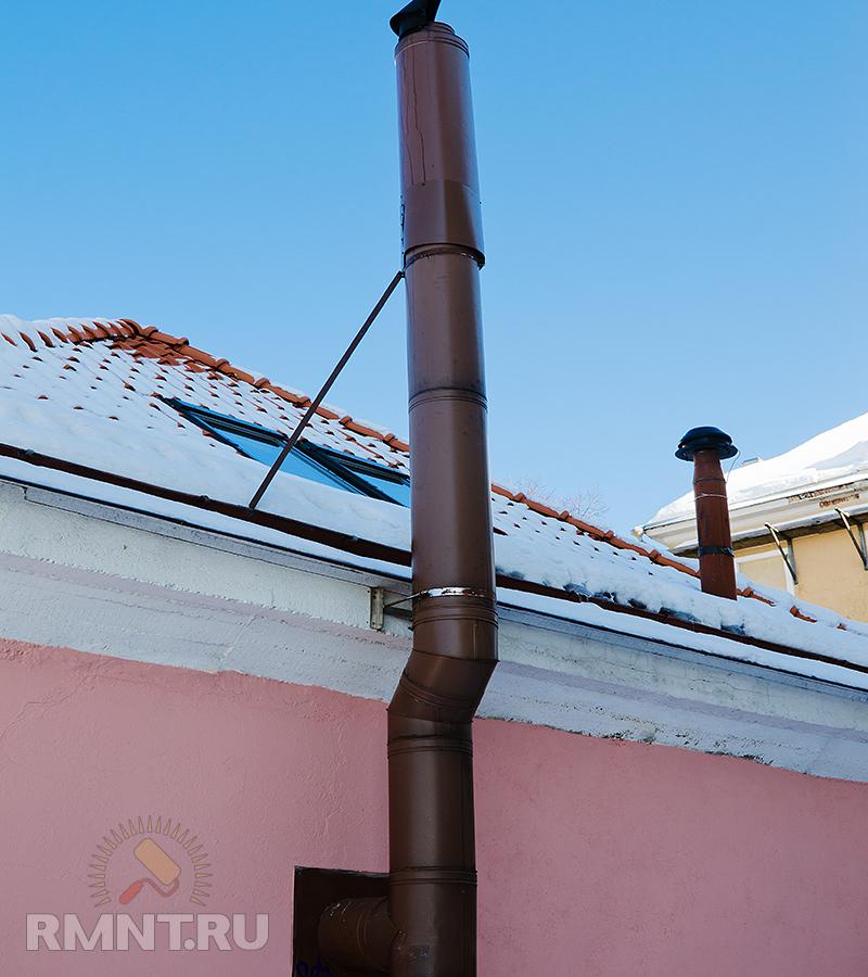 Правило постройки дымохода снип на дымоход
