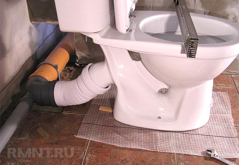 Как сделать туалет в частном доме