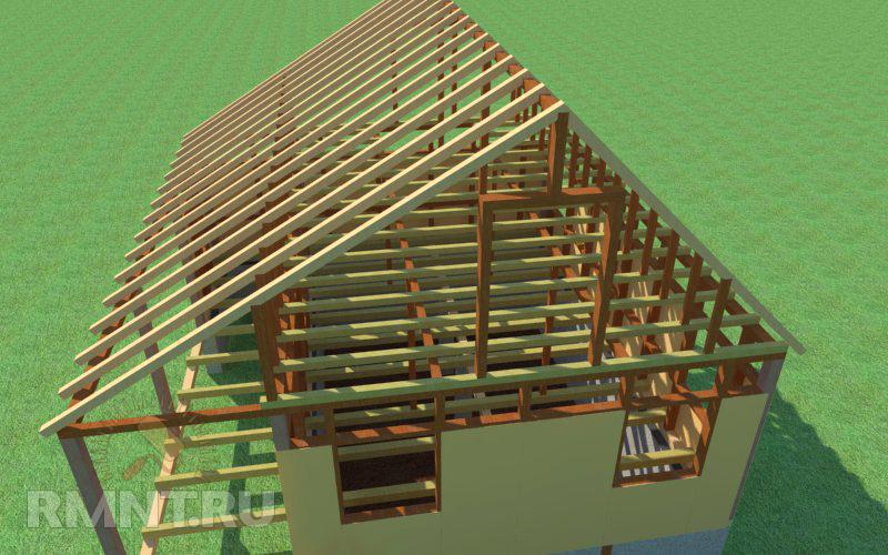 Строим сами каркасный дом 2 этажа своими руками