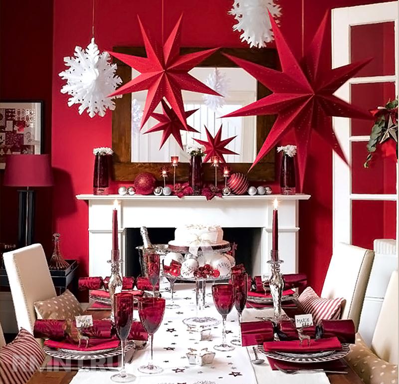Как декорировать дом на новый год своими