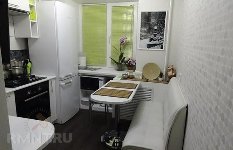10 идей обустройства интерьера маленькой кухни Rmntru