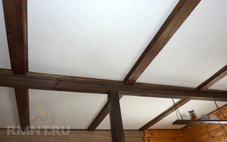 Потолок из осб плиты своими руками 190
