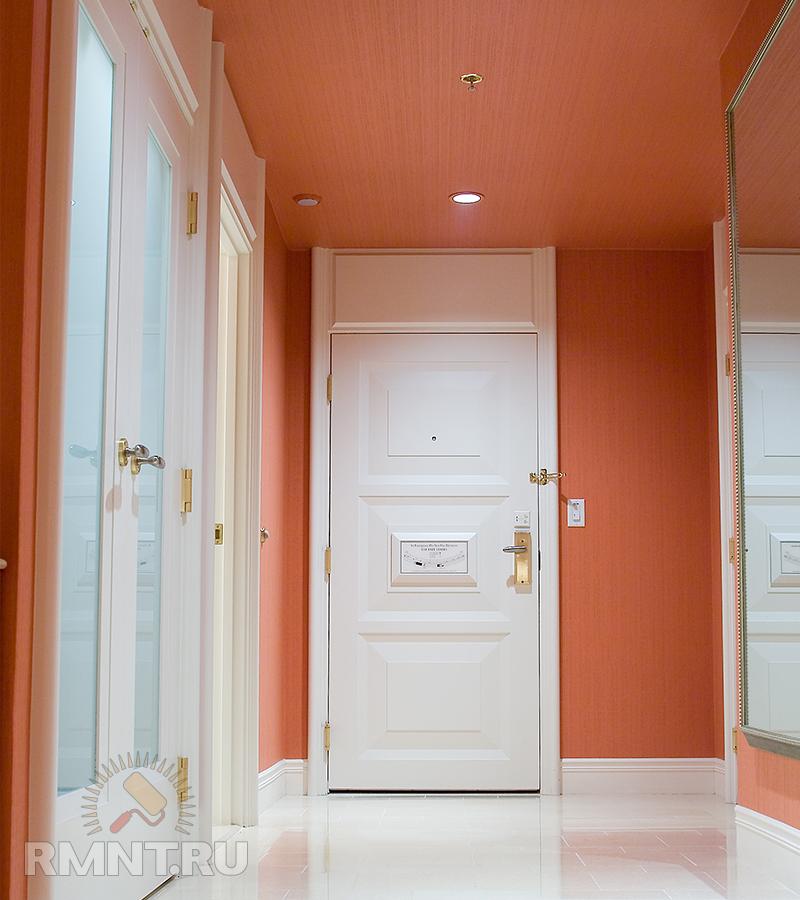 Как облицевать дверь