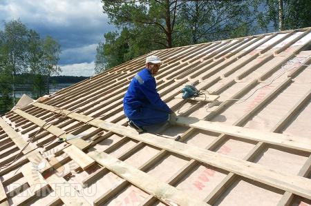 Как сделать крышу из металлочерепицы. Выбор, расчёт и монтаж
