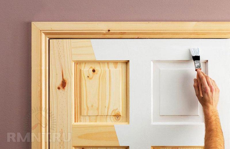 Ремонт межкомнатной двери своими руками видео