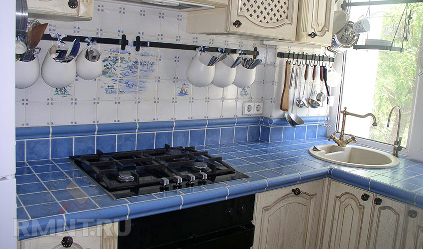 Кухонные столешницы своими руками фото